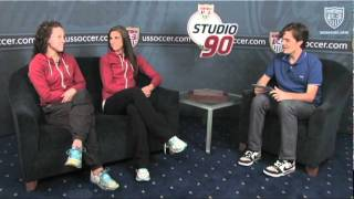 Studio 90 Extra Time: Lauren Cheney and Alex Morgan, Pt. 1