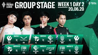 APL 2020 Group Stage | Week 1 Day 2