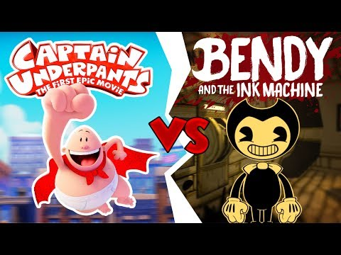 MINECRAFT   CAPTAIN UNDERPANTS vs BENDY AND THE INK MACHINE!!