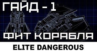 Elite dangerous: Фит корабля - общие принципы, Часть 1.