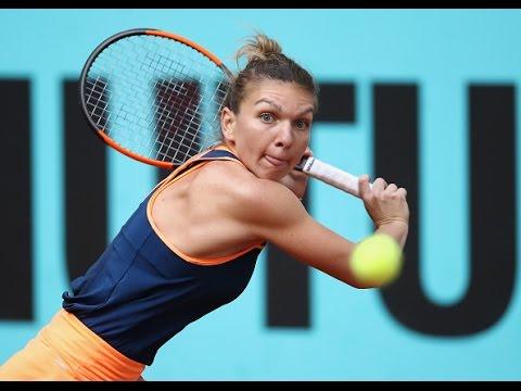 2017 Mutua Madrid Open Round of 16 | Simona Halep vs Sam Stosur | WTA Highlights