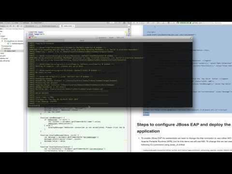 WebSocket Demo for JBoss EAP 6 3 Beta - YouTube
