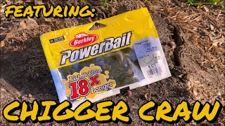 How to Fish a Soft Plastic Craw - Featuring the BERKLEY POWERBAIT CHIGGER CRAW