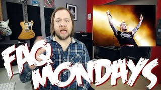 Faq Mondays: Noise Gates, Kit Guitars & Vocalists