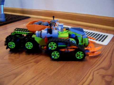 lego power miners crystal crawler instructions