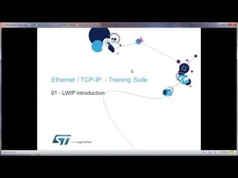 STM32以太网培训初级课程-08  LWIP协议栈简介 - YouTube