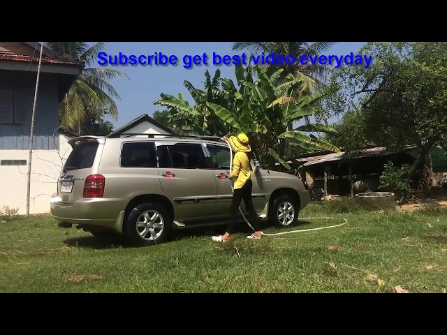 How to clean car highlander perfect - ????????????????????????????????? | Love Entertainment