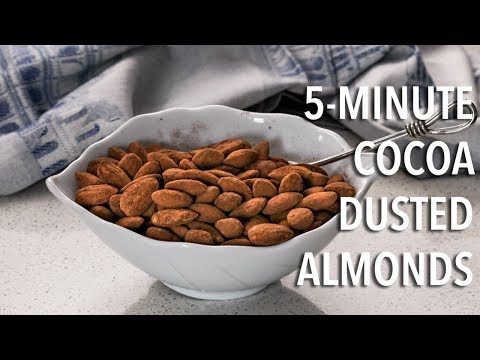 How to Make Cocoa Dusted Almonds