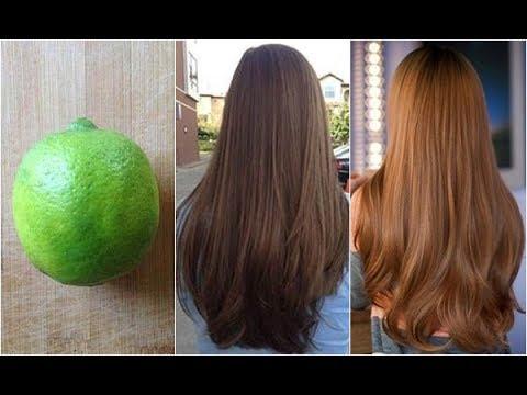 Đẹp miễn chê với 2 công thức nhuộm tóc nâu vàng từ 1 quả chanh không sợ phai màu.