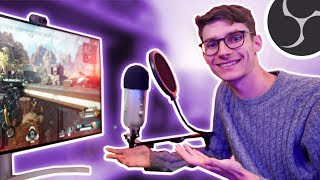 How to STREAM On Your Gaming PC! 🎮 Twitch & OBS SETUP!
