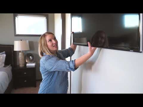 Mounting a TV in the Bedroom