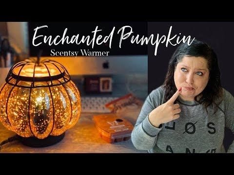 NEW UNBOXING Enchanted Pumpkin Scentsy Warmer + Perfect Pumpkin Pear Scentsy Scent