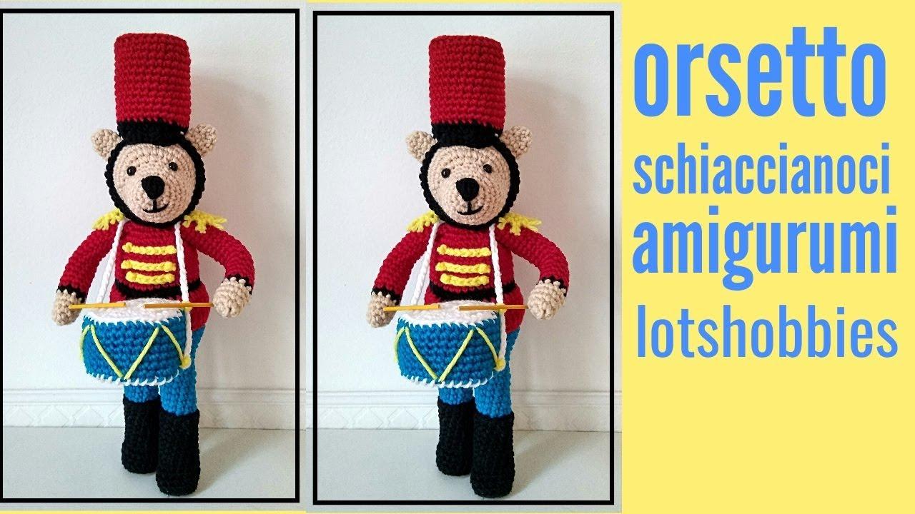 Orsetto Uncinetto - Amigurumi Tutorial- Bear Crochet - Osito ... | 720x1280