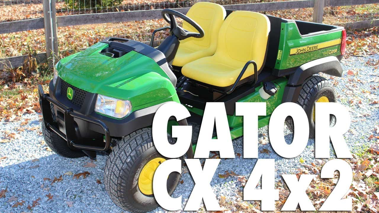 John Deere Gator >> The new 2013 John Deere Gator CX - YouTube