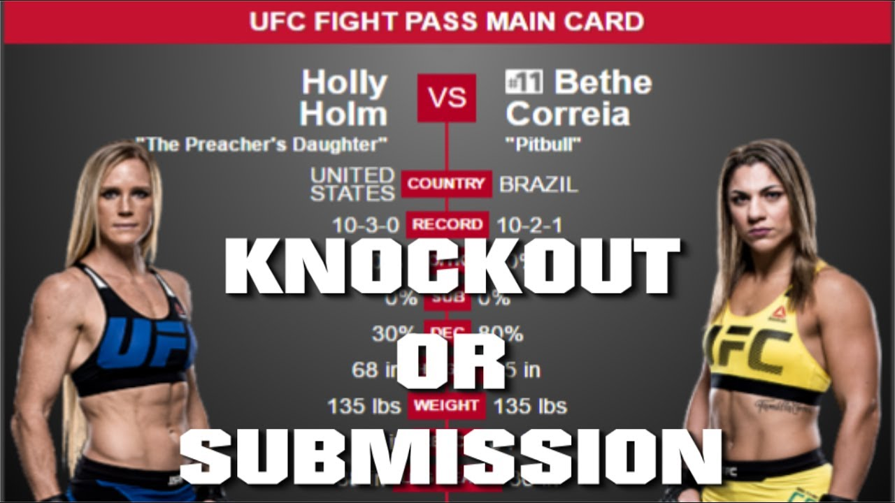 UFC Fight Night 111 Results: Holly Holm Knocks Out Bethe Correia to Lead Card