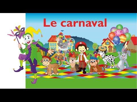Le monde du carnaval (FR) - Jeu éducatif du mardi gras