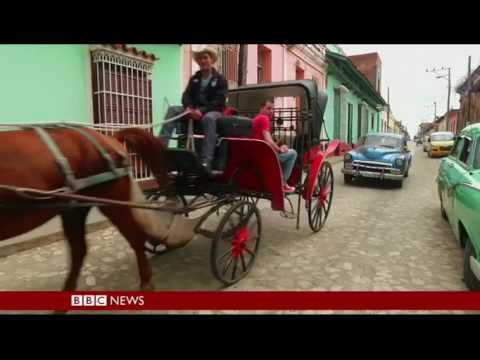 Julio Munoz, The Cowboy photographer of Trinidad de Cuba.BBC Travel Show