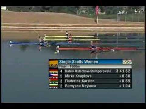 W1X Women Single Scull Athens Olympics