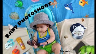Monthly Photoshoot Ideas | Newborn to 6 months | Baby Photoshoot