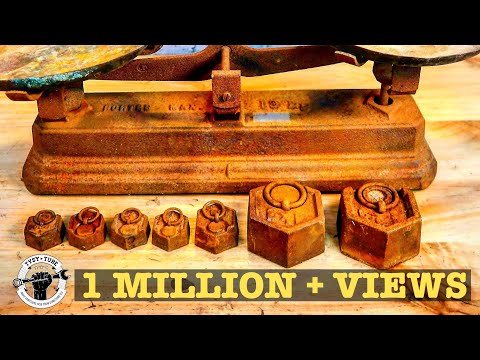 1920 Vintage Scale Restoration, This time i listened to you?! 😱
