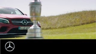Mercedes Benz presents His First Open