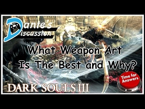 Dante's Discussion: What is The Best Weapon Art and Why? ANSWERS!