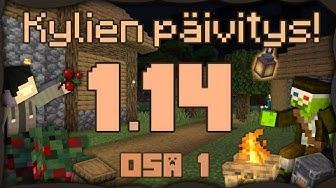 Minecraft - 1.14 Päivitys! Nuotio! Craftauspöytiä! [1/2]