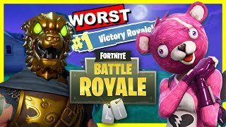 WORST DUO WIN EVER! | Fortnite Battle Royale