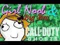 Girl Noob and Big Brother Voice Troll! - Tranny Alert in CoD Ghosts!