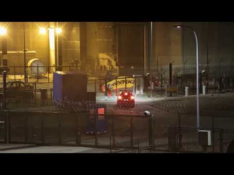 Action de Greenpeace à la centrale nucléaire de Cattenom
