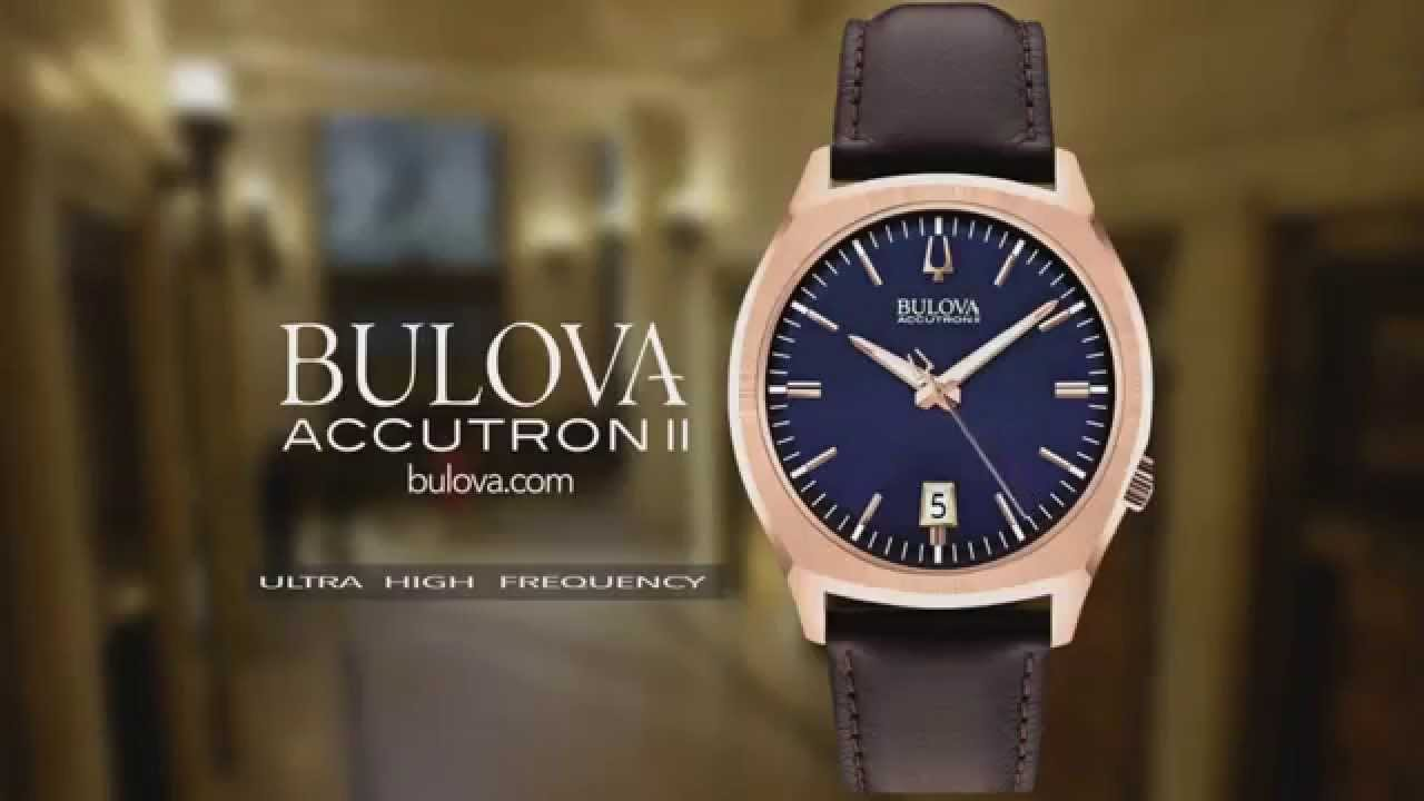 Bulova Accutron II - The New US Commercial - YouTube