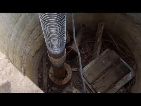 Ремонт скважины, извлечение песка из скважин.