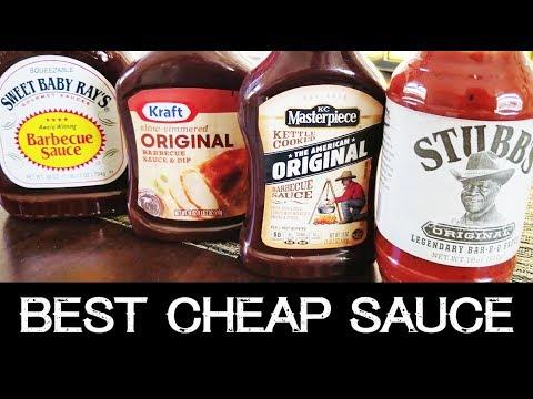 Best Cheap BBQ Sauce | Sweet Baby Ray's, Kraft, Stubb's, KC Masterpiece