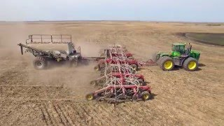 Freitag Farms 2015 - Grain Farm in Canada shot with Inspire 1 DJI