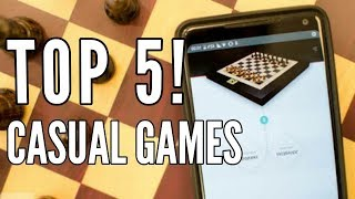 TOP 5! Casual Games for Smartphone