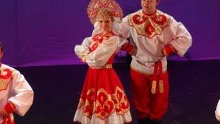 Русский народный танец, Калинка Малинка. Саратов. Влог: Россия 2013, Ч19