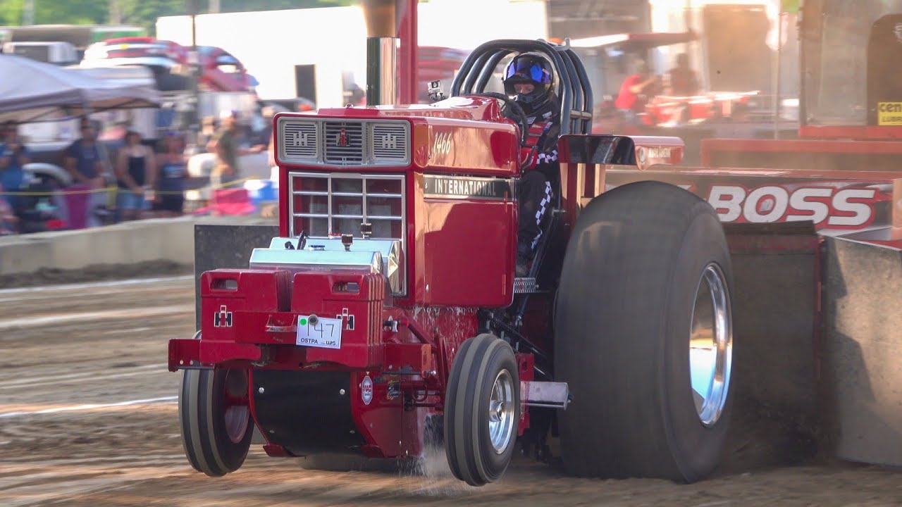 Tractor Pull 2021 Light Pro Stock Limited Pro Stock Tractors Dragway 42 Spring Shootout OSTPA