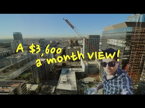 A $3,600 A Month Downtown LA View