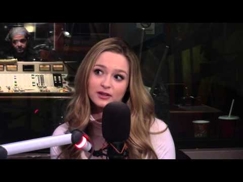 Greer Grammer InStudio With Heidi and Frank.