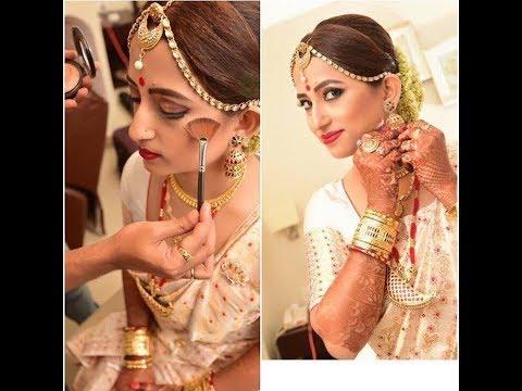 Assamese Bridal Makeover By Jitu Barman