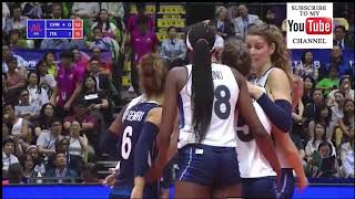 China vs Italy VNL 2018 - Full Match Highlights - HD