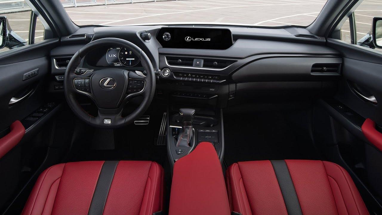 2019 Lexus Ux 250h F Sport Interior