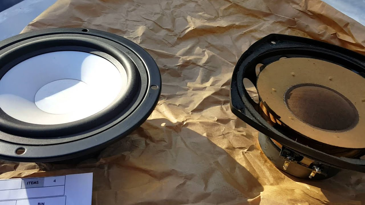 97 Bmw 740il Rear Deck Replacement Speakers