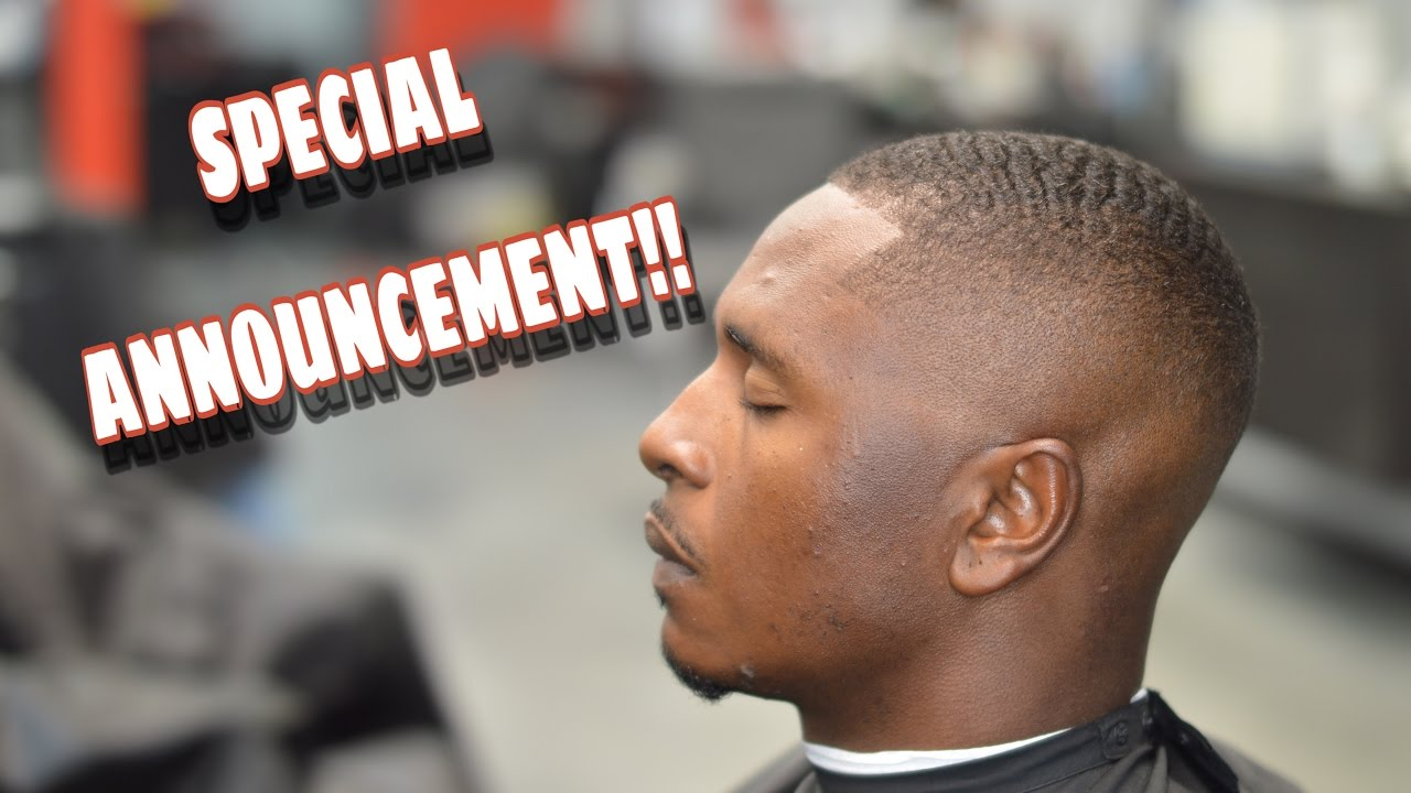 Barber Tutorial Bald Fade Wave Length Haircut Youtube