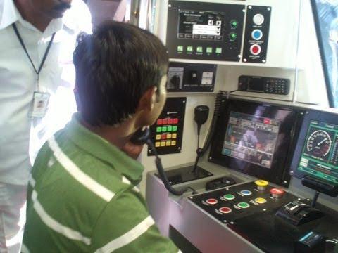 Hyderabad Metro Rail - Driver's Cabin