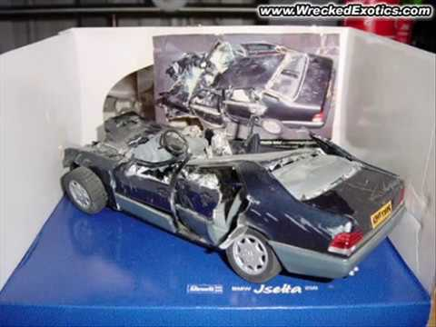 Wrecked Model Cars