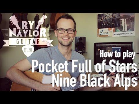 Pocket Full of Stars (Surf's Up) - Guitar Tutorial Lesson - Beginner Fingerstyle