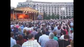 Concert Andre Rieu, vineri 5 iunie 2015 (5.06.2015), Bucuresti, Piata Constitutiei 1