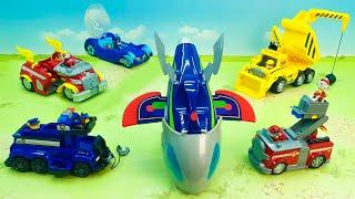 Пожарная машина Экскаватор Бульдозер Самосвал - новые игрушечные видео  - fire truck for kids.