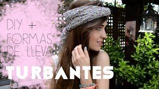 Turbantes y pañuelos ¡4 formas de llevarlos + DIY! Thumbnail